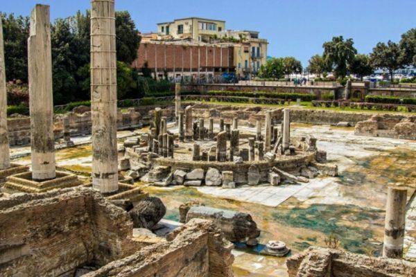 archeologia tempio di serapide
