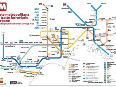 mappa metro line